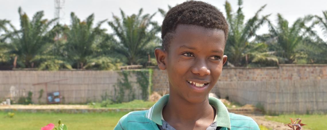 Orphan living with new generation Burundi